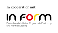 Logo in Kooperation IN FORM